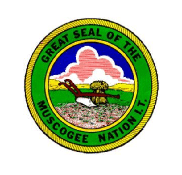 great seal of the muscogee nation
